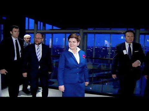 Η Πολωνή πρωθυπουργός στο Ευρωκοινοβούλιο εν μέσω αντιδράσεων