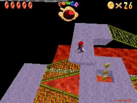 Rote Muenze Im Lavasee Super Mario 64