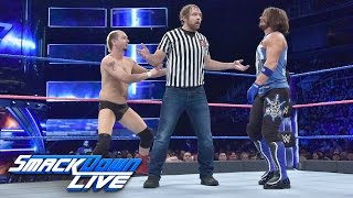 Nonton James Ellsworth Vs  Aj Styles   Special Guest Referee Dean Ambrose  Smackdown Live  Oct  11  2016 Film Subtitle Indonesia Streaming Movie Download