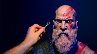 Video Sculpting Kratos from God of War 4  2018 in Monster Clay! MP3, 3GP, MP4, WEBM, AVI, FLV Mei 2018