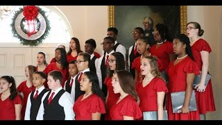 Student Choir Sings at the White House