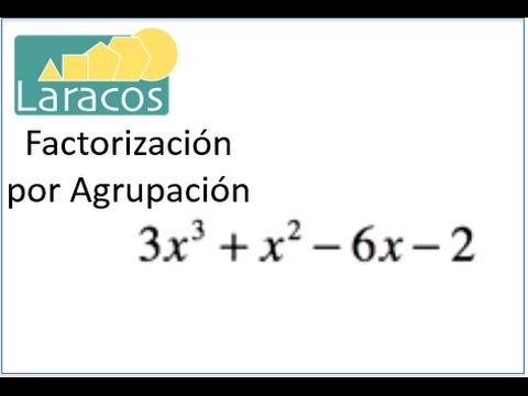 Factorización por Agrupación (polinomio Cúbico)