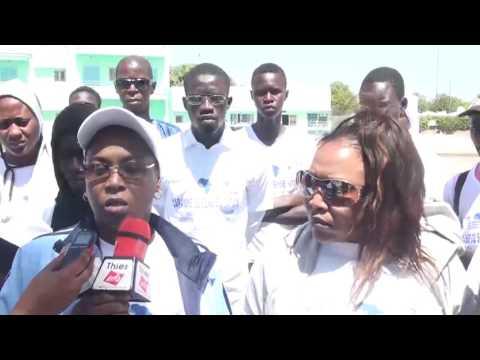 (Vidéo) Randonnée pédestre: EQUITAS marche à Thies pour sensibiliser sur les droits humains
