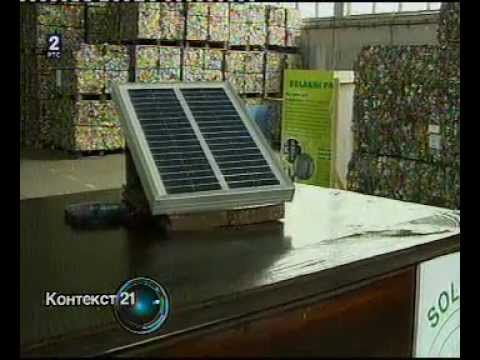 RTS 2 - Kontekst - Solarni panel od limenki