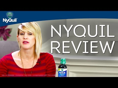Liquid Cold Medicine Reviews: Vicks NyQuil Cold & Flu Nighttime Relief Liquid