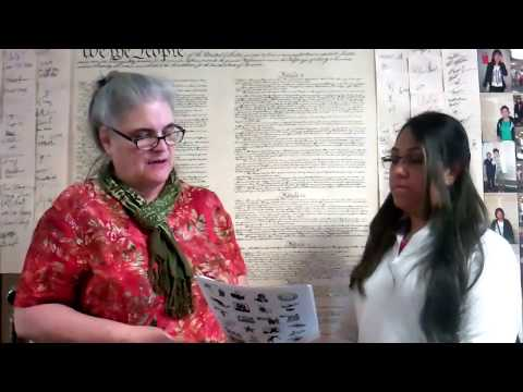 Summer School Practice Citizenship Interview #3 with Diana Arias видео