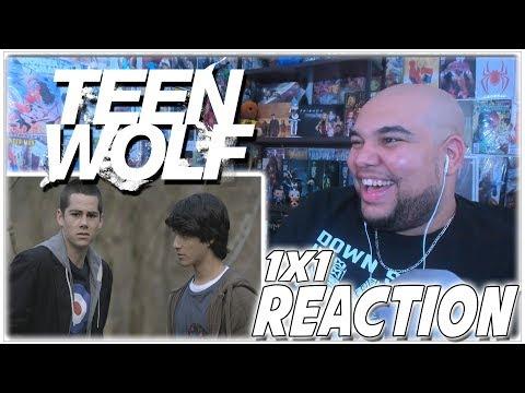 "Teen Wolf Reaction Season 1 Episode 1 ""Wolf Moon"" 1x1 REACTION!!!"