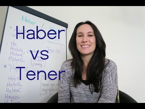 Haber or tener? That's the question! - plus practice