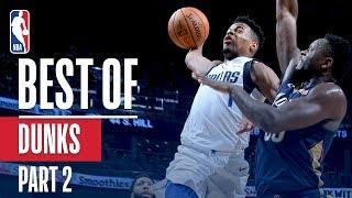 Download Video NBA's Best Dunks | 2018-19 Season | Part 2 MP3 3GP MP4
