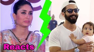 Video First time Kareena Kapoor Khan reacts to Shahid's daughter Misha Kapoor MP3, 3GP, MP4, WEBM, AVI, FLV Maret 2019