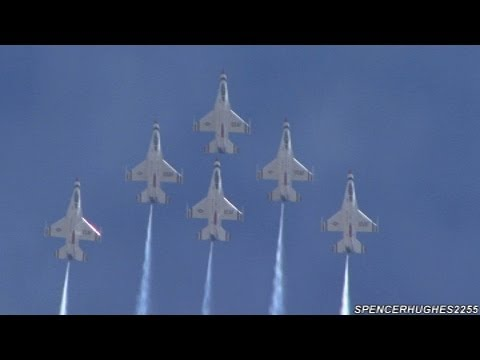 2012  Air Fest - USAF Thunderbirds