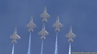 Moreno Valley (CA) United States  city pictures gallery : 2012 March ARB Air Fest - U.S.A.F. Thunderbirds