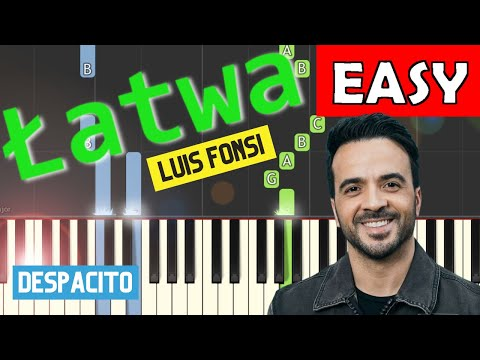 Despacito (Luis Fonsi) - łatwa synthesia