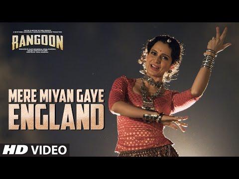 Video Mere Miyan Gaye England Video Song | Rangoon | Saif Ali Khan, Kangana Ranaut, Shahid Kapoor download in MP3, 3GP, MP4, WEBM, AVI, FLV January 2017
