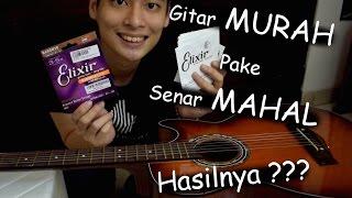 Video #EKSPERIMENGITAR Gitar MURAH Pakai Senar MAHAL ??? MP3, 3GP, MP4, WEBM, AVI, FLV Maret 2018