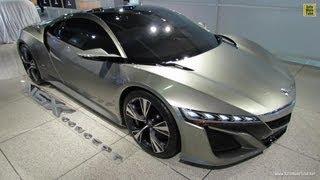 2014 Acura NSX Concept At 2012 LA Auto Show