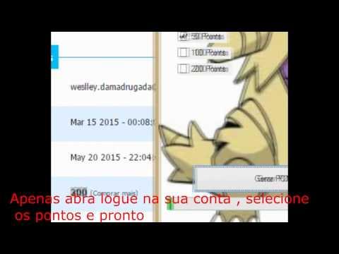 Gerador De Pontos OTP 2015 atualizado 24/05/2015 (funcionando):  Download : http://www.sendspace.com/file/eico6uDesative o anti-virusDepois de Dias , fazendo scripts a nossa equipe conseguiu scripts e dll's que conseguem adicionar Pontos Validos nas contas do