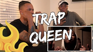 Montana of 300 ft. Jalyn Sanders - Trap Queen Remix (Music Video) (( REACTION )) - LawTWINZ