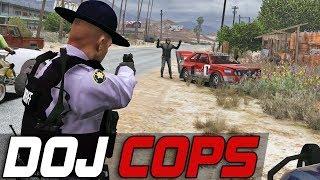 Dept. of Justice Cops #480 - Show Me Your Hands!
