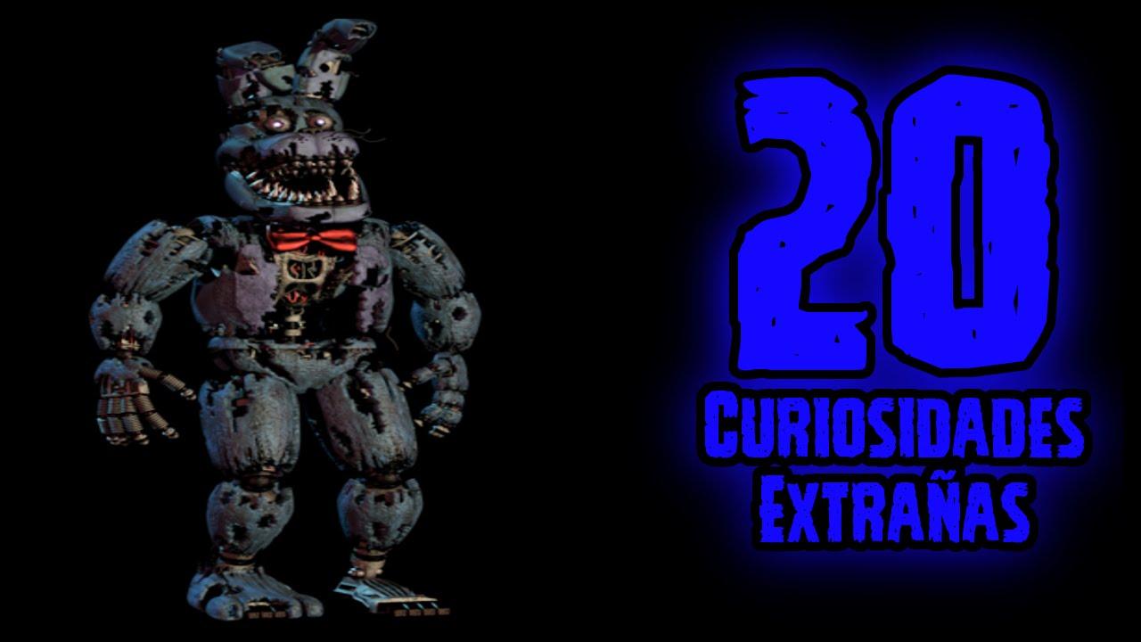 TOP 20: 20 Curiosidades Extrañas De Nightmare Bonnie De Five Nights At Freddy's 4 | FNAF 4