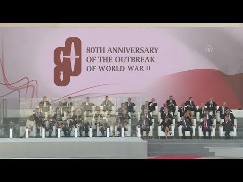 Η 80η επέτειος από την έναρξη του Β΄ Παγκοσμίου Πολέμου γιορτάστηκε στην Πολωνία