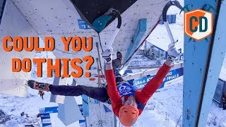 Upside Down...On The Edge Above A Frozen Wilderness   Climbing Daily Ep.1632 by EpicTV Climbing Daily