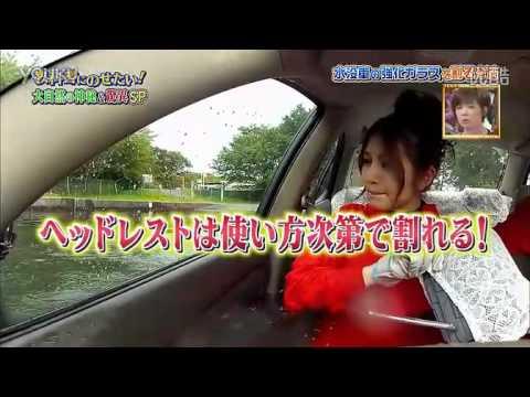 汽車被淹沒了車門怎麼開?