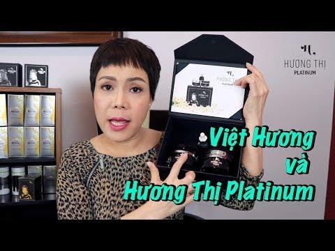 Việt Hương giới thiệu dòng sản phẩm cao cấp HƯƠNG THỊ PLATINUM - Thời lượng: 17 phút.