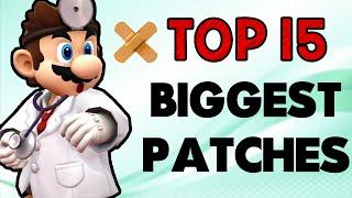 Top 15 Biggest Patches! (Smash Wii U/3DS) – My Smash Corner
