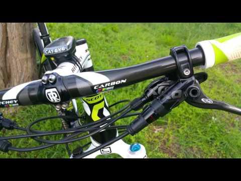 Scott Scale 10 XC Hard Tail - Full Carbon, Sram X0 Carbon (видео)