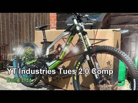 YT - Edit showing the unboxing and building of YT Industries Tues 2.0 Comp. Voted downhill bike of the year in Dirt magazine. YT claim that
