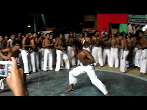 Roda de capoeira em São Desiderio Bahia