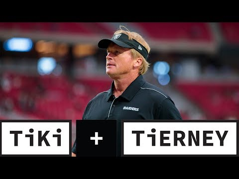 Video: Jon Gruden Needs To Take Control Of The Raiders | Tiki + Tierney