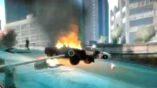 bei dem spiel gta 4 machen wir stunts mit autos und flieger