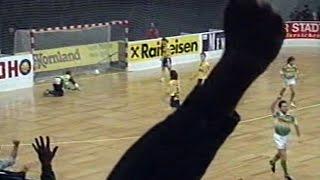 Wiener Stadthallenturnier: Rapid gewinnt Finalspiel gegen Vienna (1995)