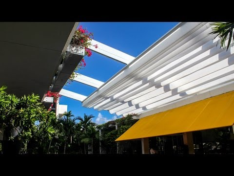 En-Fold Retractable Canopy at Bal Harbour Shops