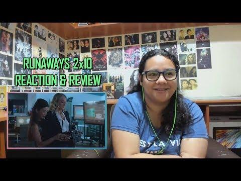 """Marvel's Runaways 2x10 REACTION & REVIEW """"Hostile Takeover"""" S02E10   JuliDG"""