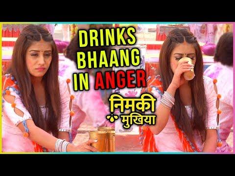 Nimki Drinks BHAANG In Anger | Holi Drama | Nimki