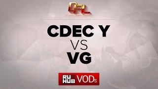 VG vs CDEC.Y, game 2