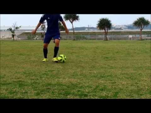 ボールタッチの応用練習