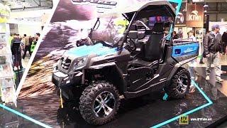 8. 2015 CfMoto U-Force 550 EFI Utility ATV-Exterior,Interior Walkaround-2014 EICMA Milan