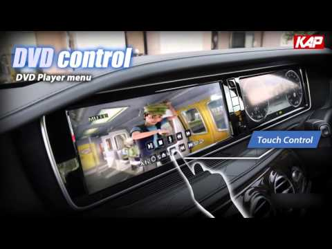 DVB T, DVD control by Tocuh to Mercedes-Benz (NTG 5.0 / 5.1)