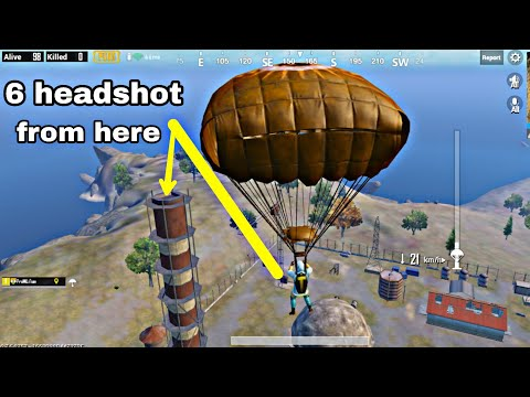 Highest Tower of PUBG Mobile made me invisible for all the Enemies in war mode | Transparent Claw
