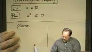 College Algebra - Lecture 20 - Inequalities In One Variable