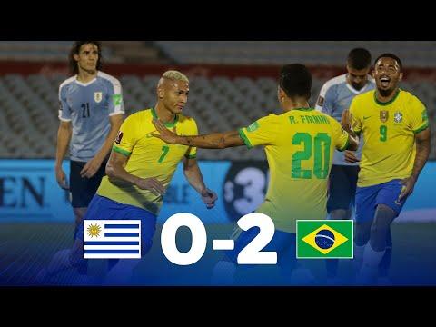 Eliminatorias   Uruguay vs Brasil   Fecha 4