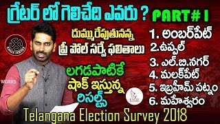 Telangana Election Survey 2019 Latest | Greater Hyderabad | Part 1 | Eagle Media Works