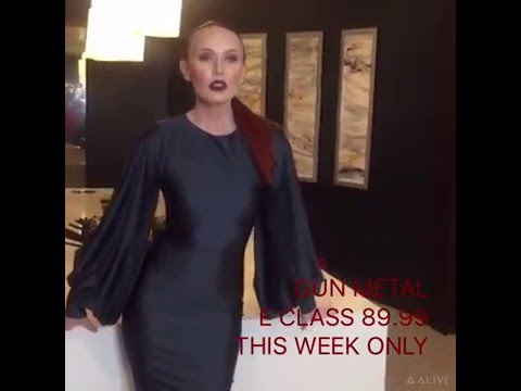 GUN METAL E CLASS DRESS ON SALE THIS WEEK $89.99