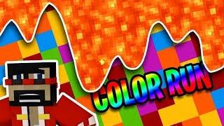 Minecraft: Extreme Color Run Vs. X33N by CaptainSparklez