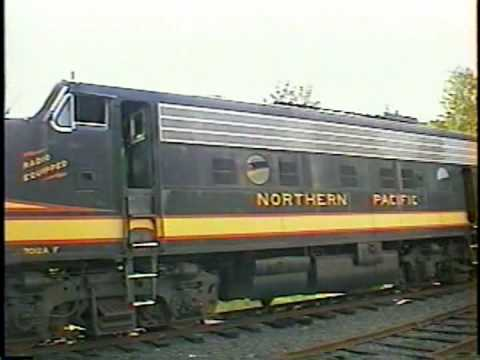 Engine startup of NP F9 # 7012A and engine room walkthrough