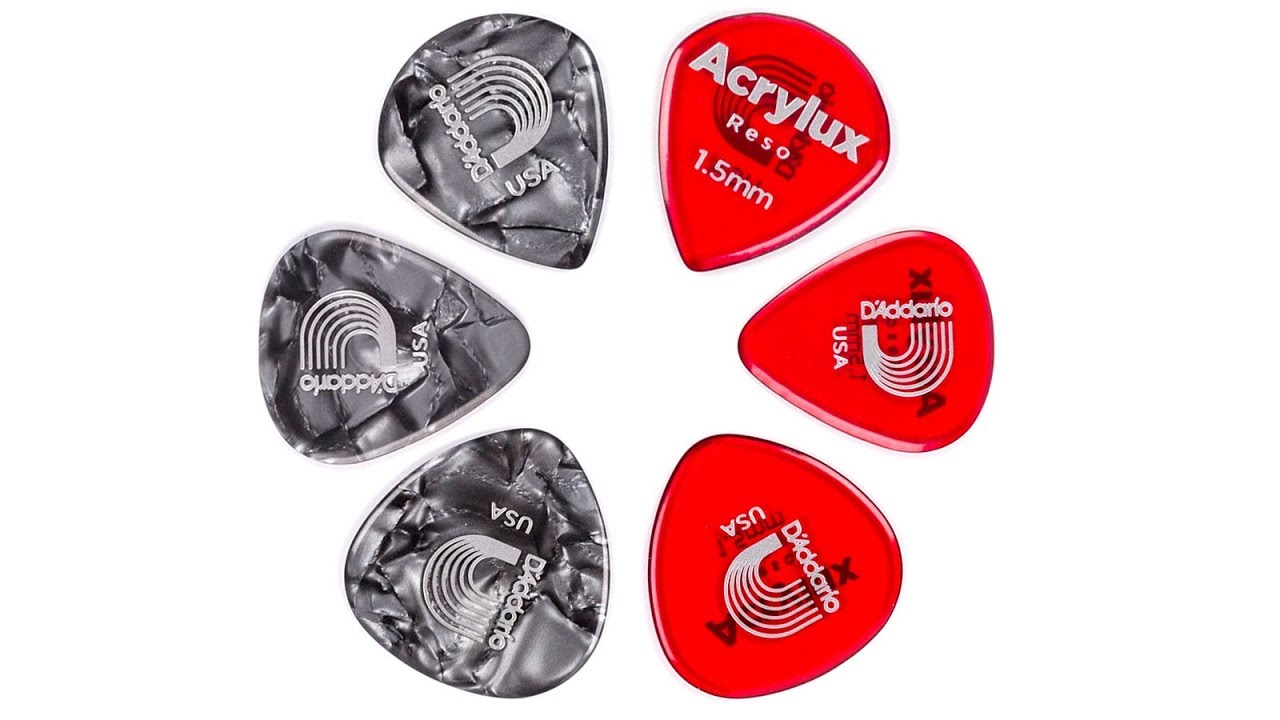 Acrylux Acoustic Guitar Pick Review